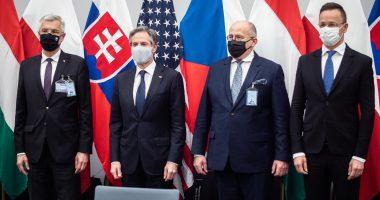 blinken visegrad four countries hungary