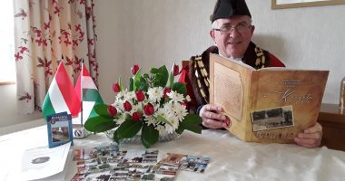 This is how a small Welsh town celebrated its Hungarian national holiday