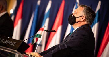 orbán in israel