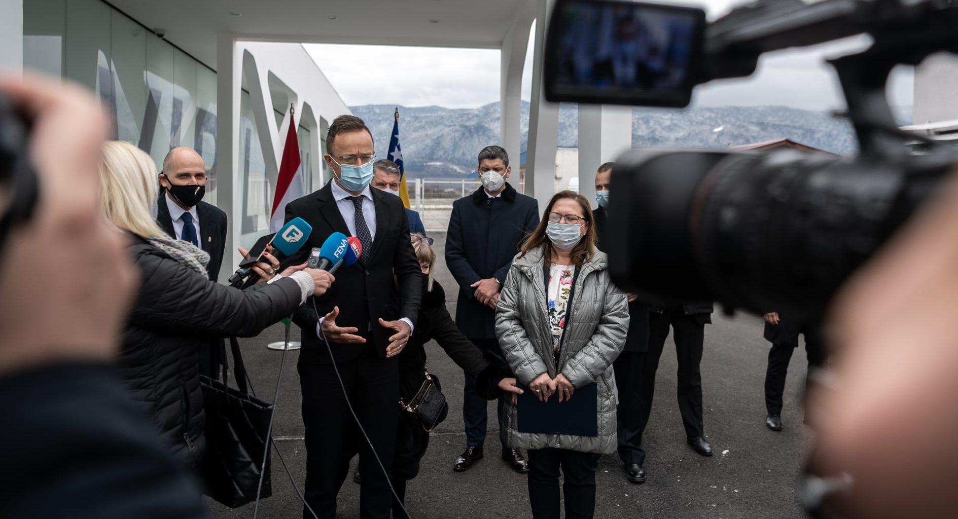 sarajevo hungary bosnia minister
