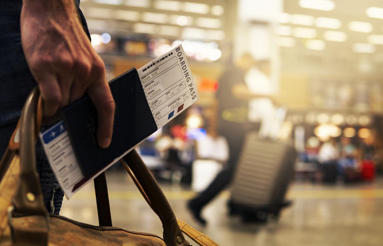 travel tourism airport passport