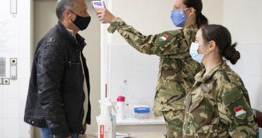Coronavirus Test Koronavírus Teszt Vaccine Vakcina Oltás