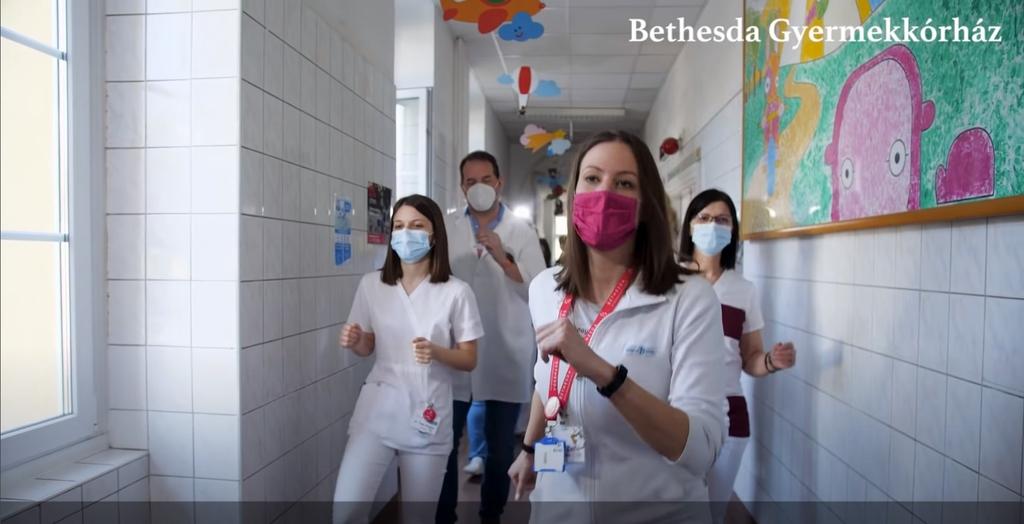 Dance Tánc Bethesda Hospital Kórház