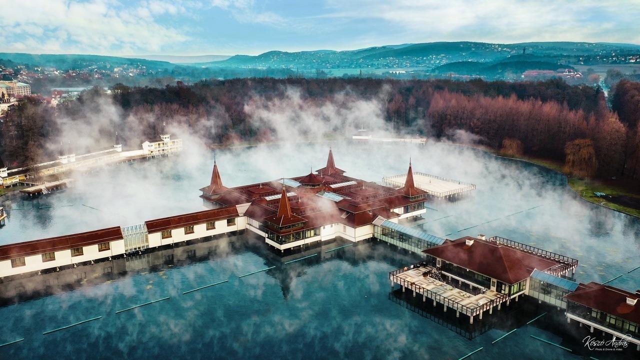 Hévíz Spa Thermal Bath Fürdő Gyógyvíz