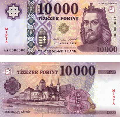 money Forint banknote