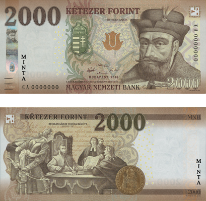 banknote money Forint
