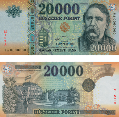 forint money banknote