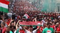 Hungary football fans