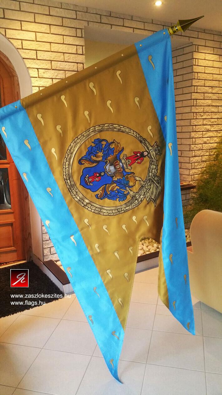 Painted Flag Festett Zászló 2