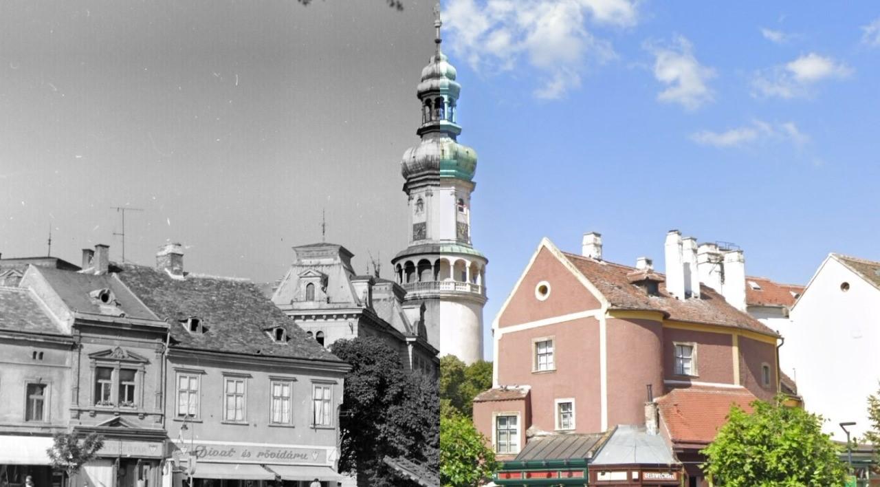 Sopron Collage Cut