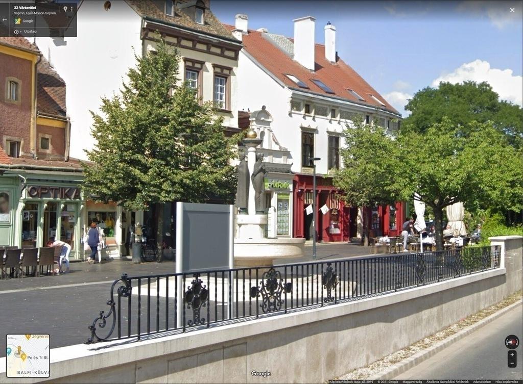 Sopron Kisvárker Hűségkút