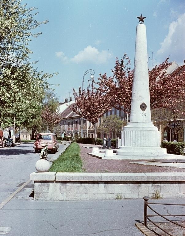 Sopron Kisvárker Szovjet Emlékmű