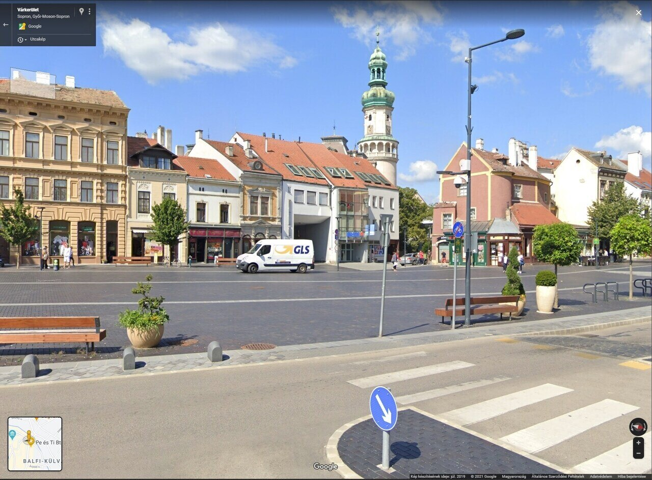 Sopron Várkerület Mai