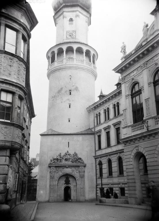 Tűztorony Fire Tower Sopron Main Square Fő tér