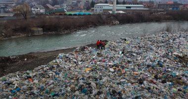 Tisza River Pollution Environment Waste Garbage
