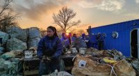 Tisza River Pollution Environment Waste Garbage Effort