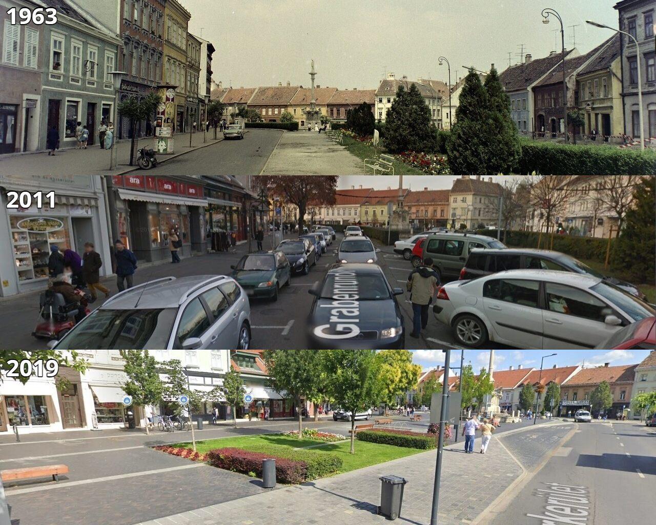 Sopron Várkerület Collage