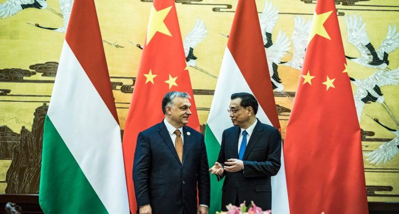 orbán in china