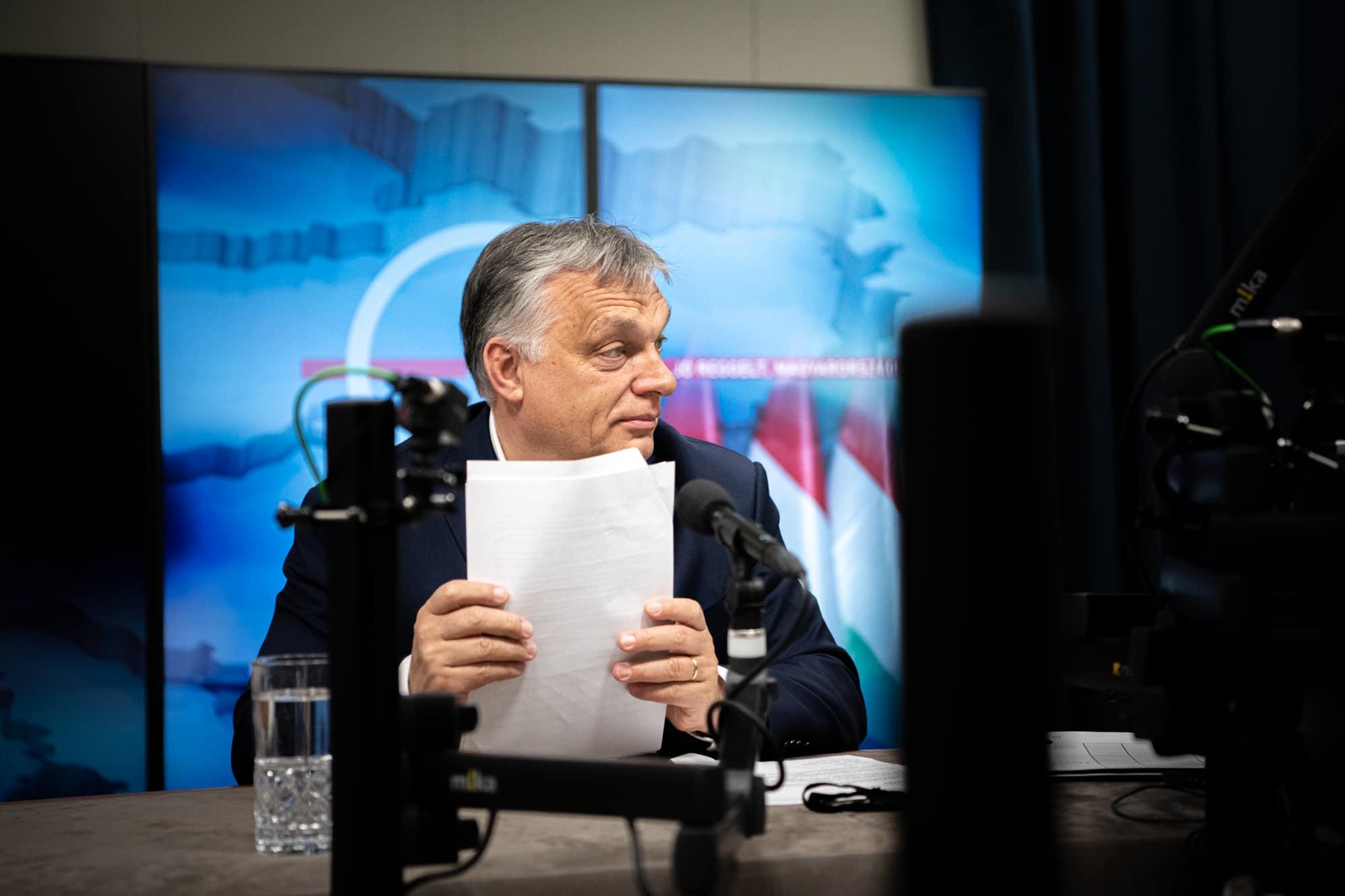 orbán in radio