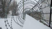 prison winter fence