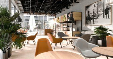 robot etterem kavezo restaurant cafe