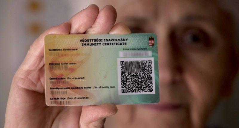 vaccination immunity certificate_hungary