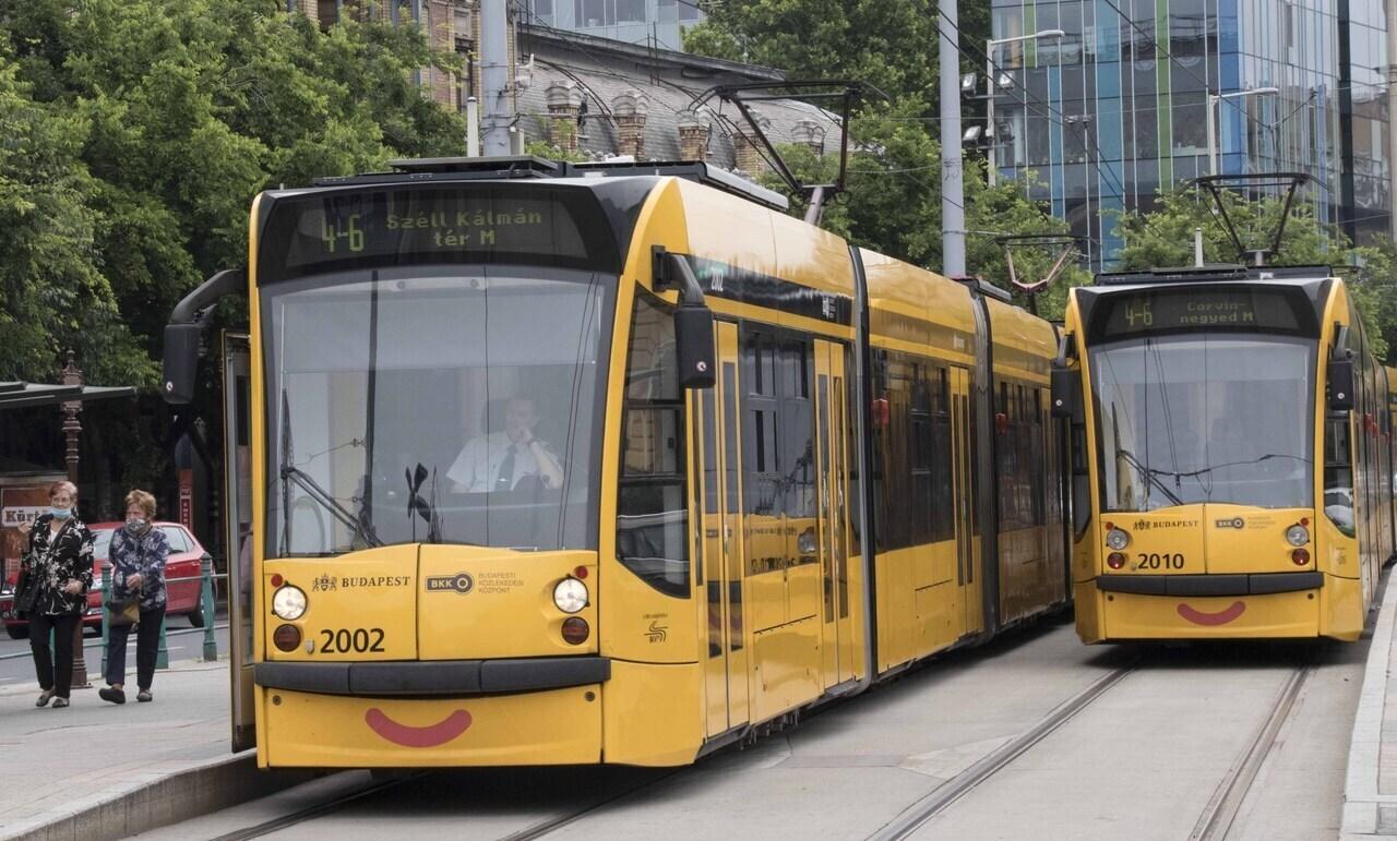 bkk_tram_4-6_budapest