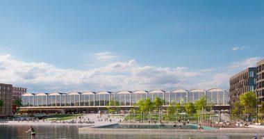 Snohetta plan Budapest student city