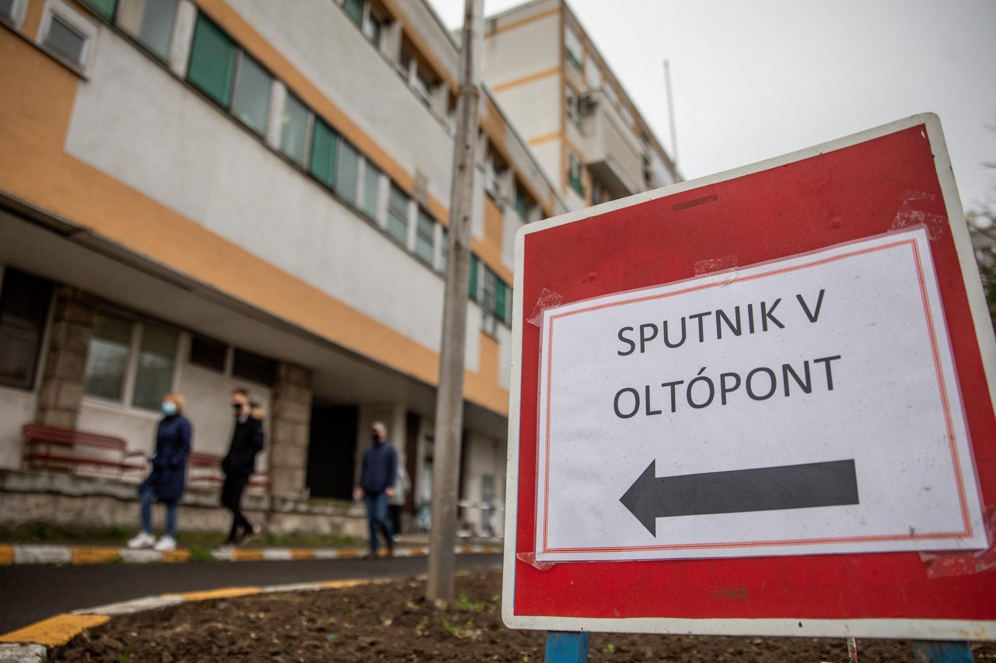 sputnik vaccination hungary