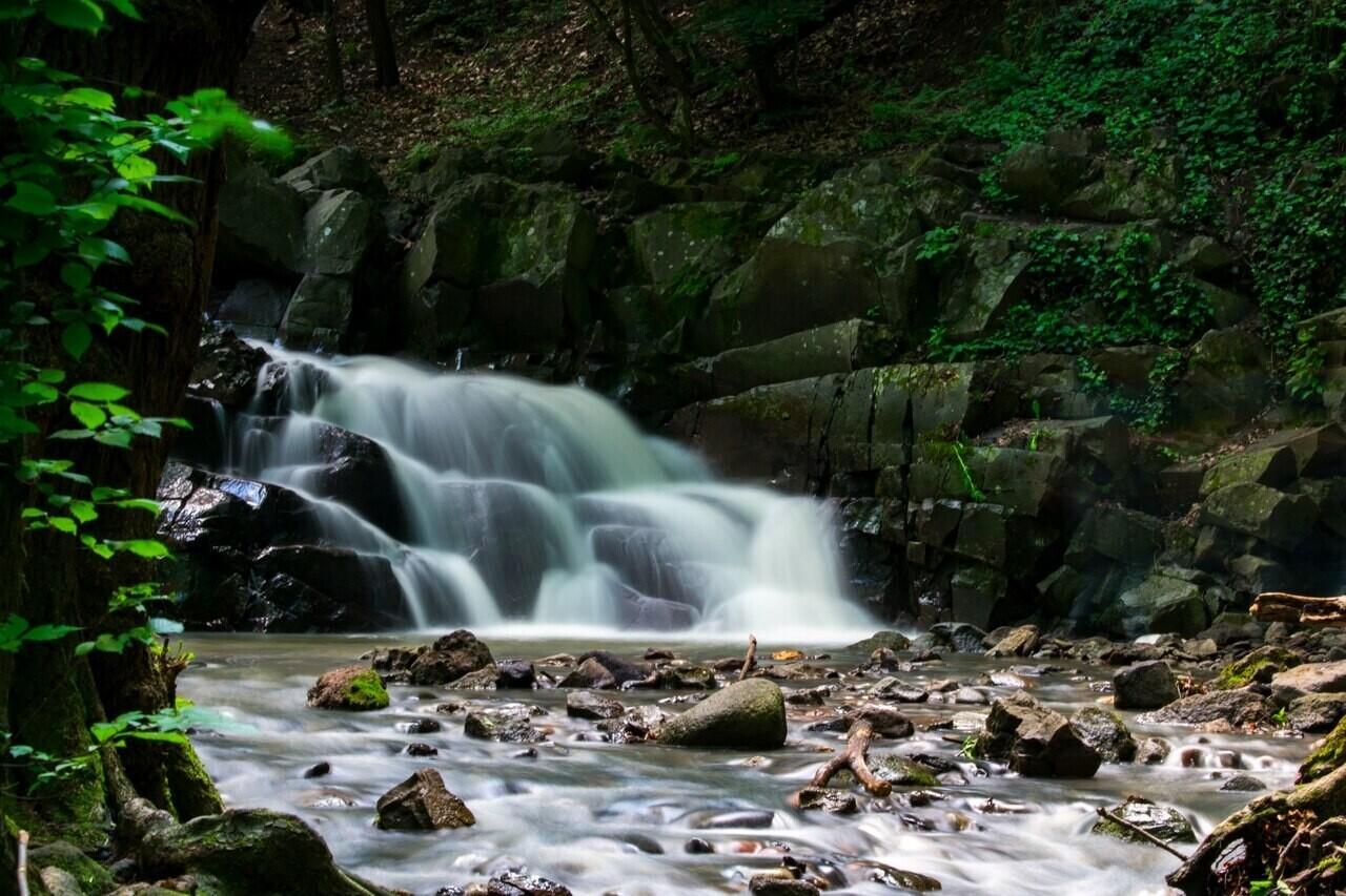 Dömörkapu Dömör Gate Waterfall Vízesés
