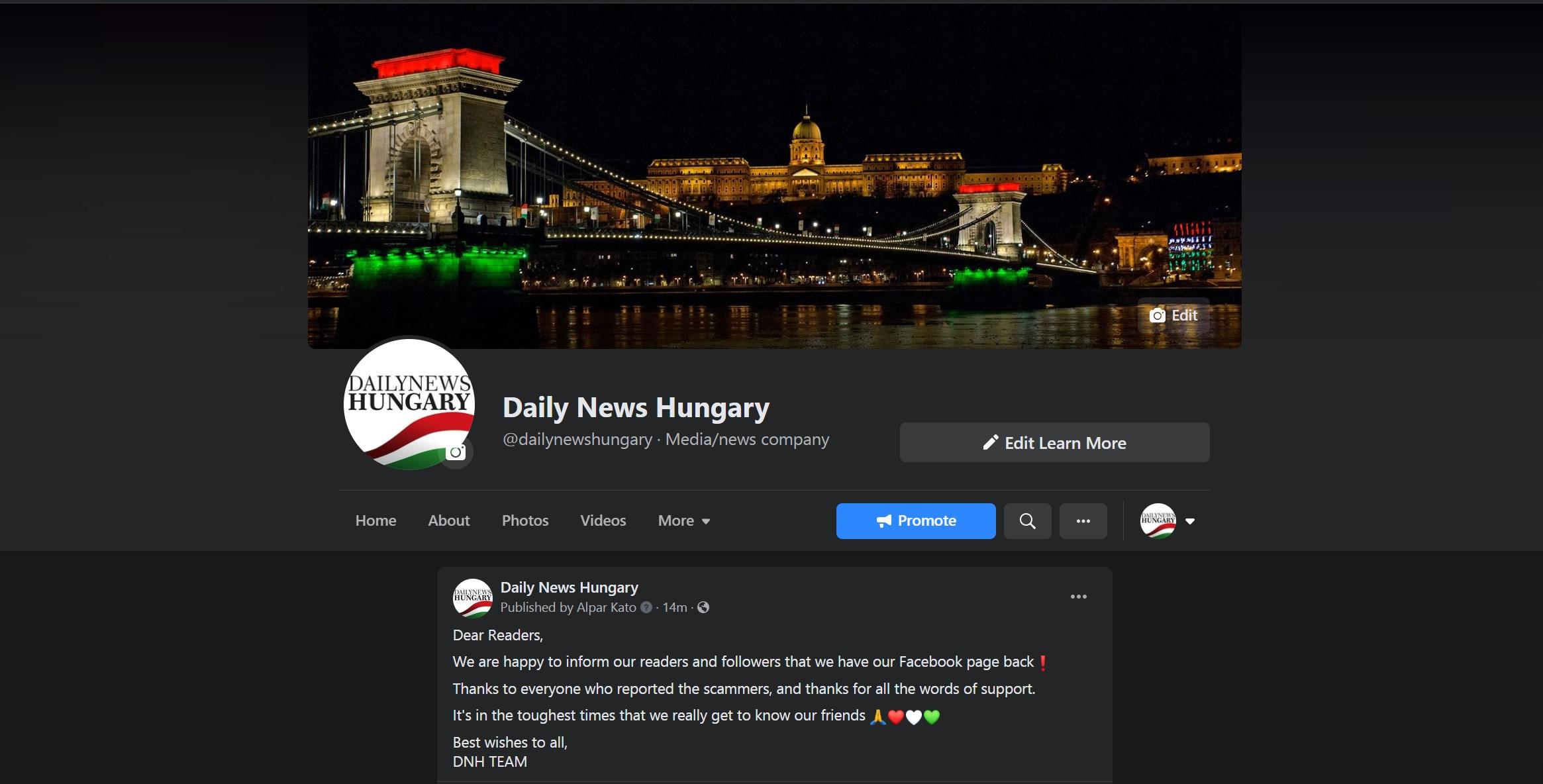 DNH Fb page