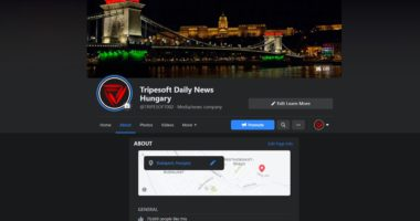 Daily News Hungary facebook page stolen