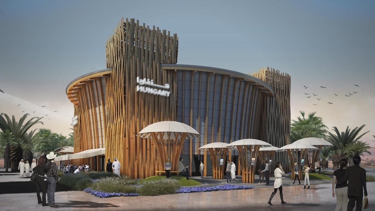 Dubai World Expo Hungarian Pavilion