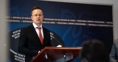 Foreign ministry vaccine Macedonia