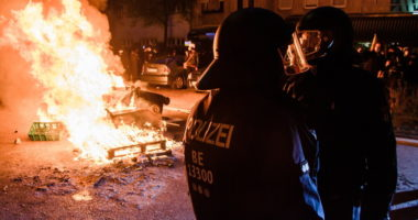Germany Protest May Day Coronavirus Pandemic Police