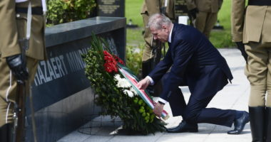 Hungarian Heroes' Day Commemoration