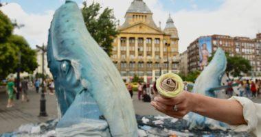 Ice cream Budapest summer