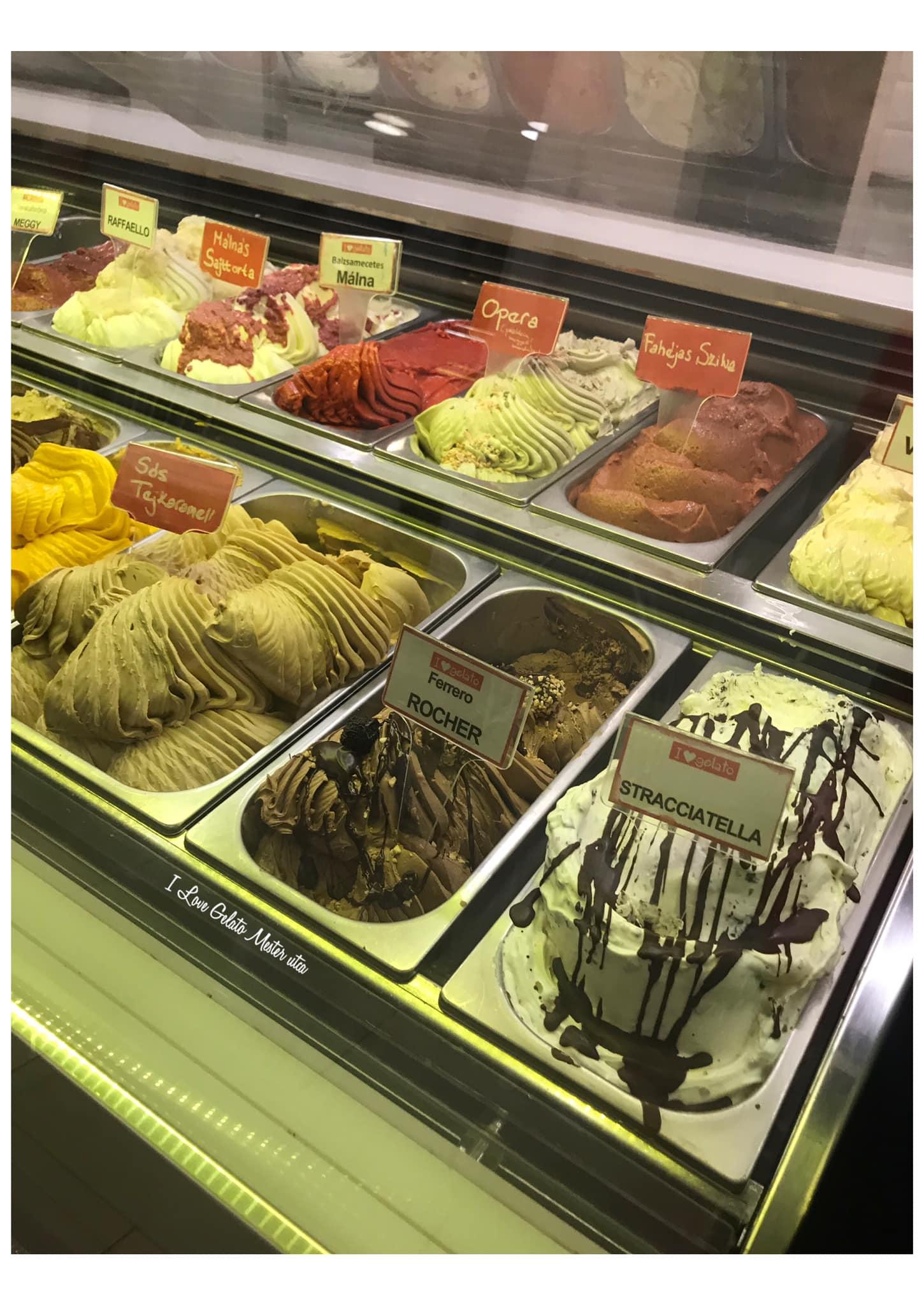 budapest ice cream summer