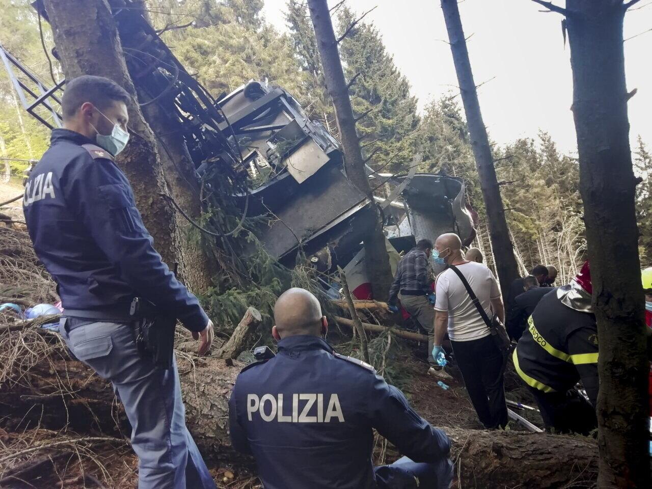Olaszország Italy Tragedy Disaster Accident Death Rescue Resized