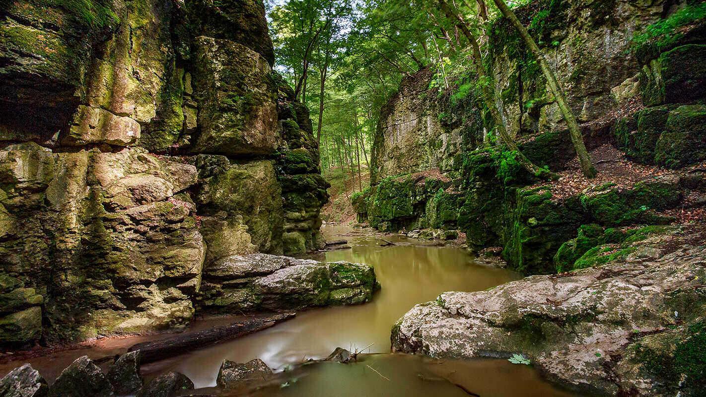 Római Fürdő Roman Bath Waterfall Vízesés