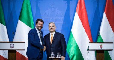 Salvini Viktor Orbán court