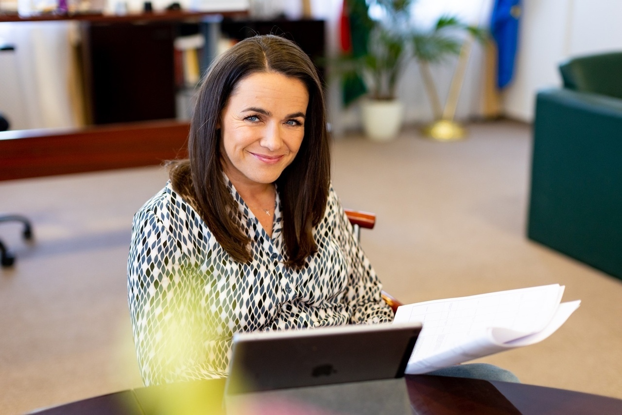 Secretary of State for Family and Youth Affairs Novák Katalin
