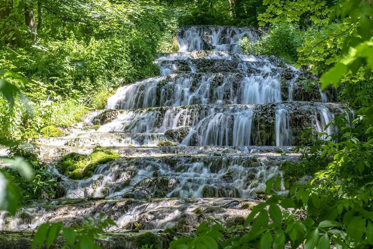 Szalajka Valley Waterfall Vízesés