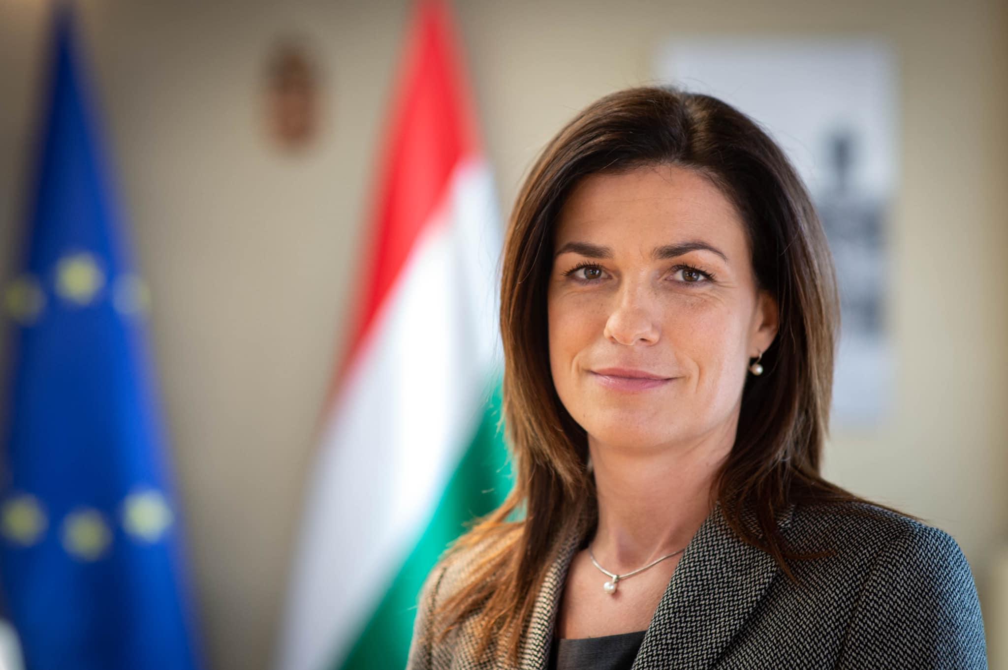 Varga Judit Justice Minister
