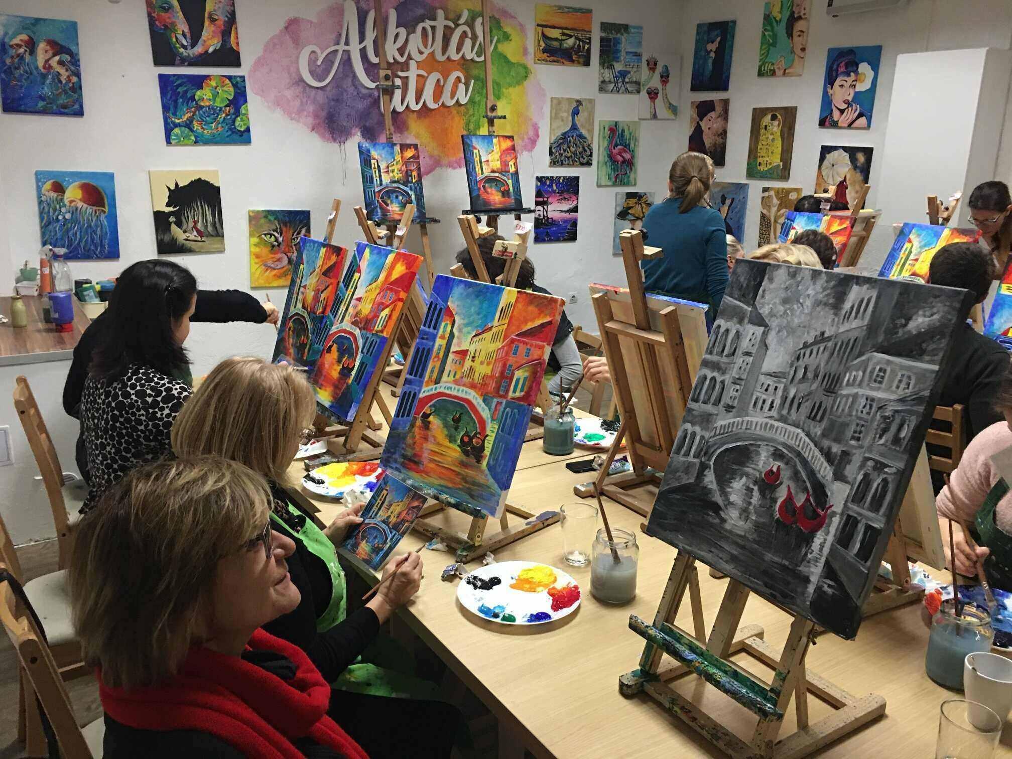 alkotasutca painting workshop