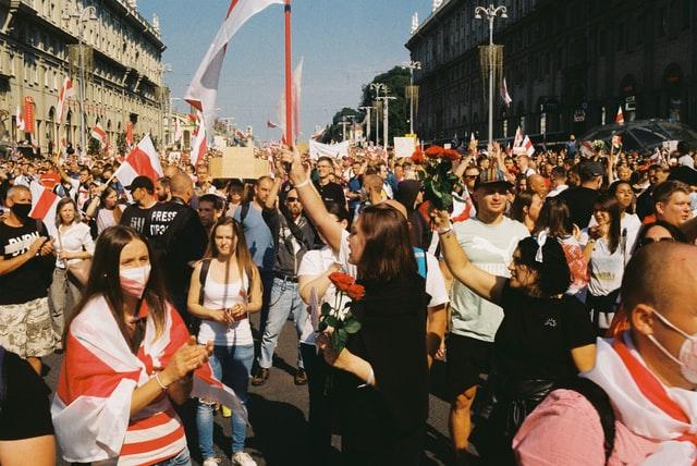 Belarus protest Putin