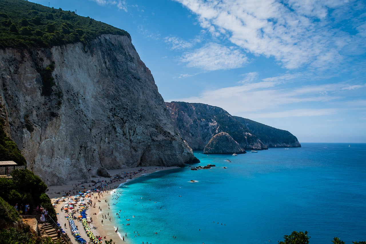Summer is coming - Greece reopened beaches today!