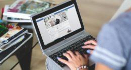 hands-woman-laptop-notebook-facebook