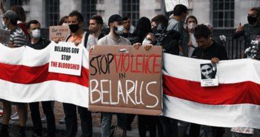 Belarus Russia protest