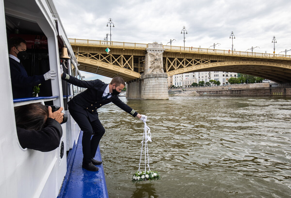 Danube ship collision South Korea